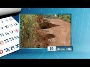 Calendário: Moradores do Bairro Ana Moura,de Timóteo, reclamam da falta de pavimentação - Moradores agradecem pelas mudanças já realizadas mas pedem agora a pavimentação.