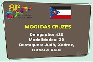 Atletas do Alto Tietê se preparam para Jogos Abertos - Competição será realizada em cidades do Grande ABC, em São Paulo. Somente na delegação de Mogi das Cruzes são 420 pessoas.