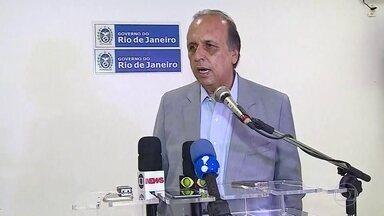 Governador fala sobre a saída do Procurador-Geral - Luiz Fernando Pezão disse que demitiu Leonardo Espíndola.