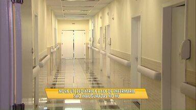 Hospital Universitário de Cascavel recebe 30 novos leitos de enfermaria - A UTI adulto também deve ser ampliada.