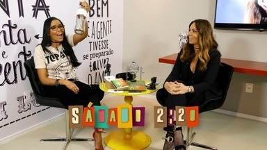 Chamada: Solange Almeida participa do quadro Se Liga Tube neste sábado (18) - Niara Meireles vai aprontar com a cantora
