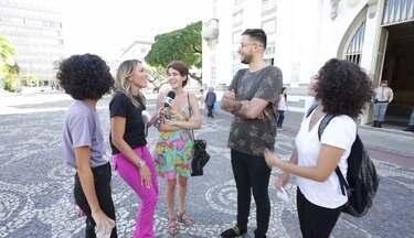 'The Voice Brasil': como anda a popularidade do cantor George Sants? - Acompanhado da repórter Fernanda Pinheiro, o músico foi às ruas bater um papo com a galera e contar as novidades da carreira