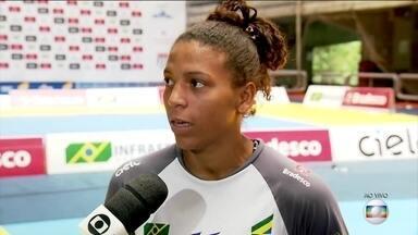 Rafaela Silva diz que Brasil está bem representado para o desafio internacional de judô - Rafaela Silva diz que Brasil está bem representado para o desafio internacional de judô