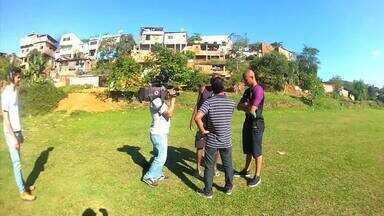 'Plugue' conversa com o goleiro Lucão, de Barra Mansa - 'Plugue' conversa com o goleiro Lucão, de Barra Mansa