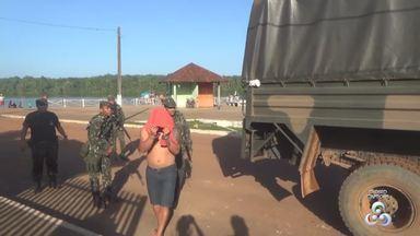 Operação conjunta combate tráfico de drogas na fronteira do AP com a Guiana Francesa - Ação foi realizada pela Polícia Civil com o Exército Brasileiro.