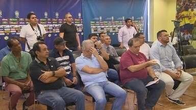 FAF e clubes prmoveram o sorteio do Barezão nesta sexta - Reunião ocorreu na Arena da Amazônia, Zona Centro-Oeste de Manaus