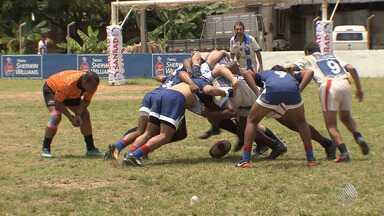 Campeonato Baiano de rugby olímpico movimenta a cidade de Valença, no baixo sul - Esporte surgiu no Reino Unido e ganha cada vez mais adeptos no Brasil.