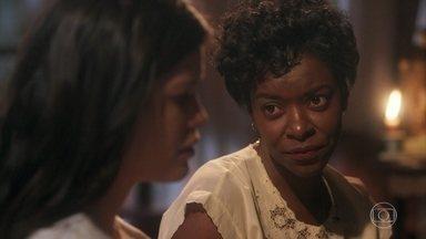 Nicota consola Maria Vitória - Ela consegue convencer a moça a dormir um pouco