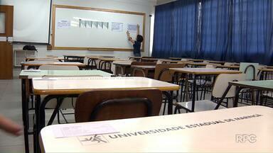 Tudo pronto para a realização do PAS da UEM - Prova vai ser aplicada neste domingo para 27 mil estudantes no Paraná
