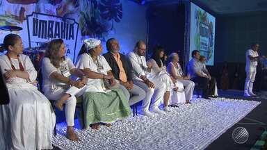 Umbandistas de toda a Bahia se reúnem em Salvador para celebrar aniversário da religião - A umbanda surgiu há 109 anos, no Brasil.