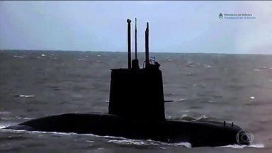 Força-tarefa internacional procura submarino argentino que desapareceu - Submarino, com 44 tripulantes, está desaparecido há três dias no Atlântico Sul. Brasil enviou três navios para ajudar, e até um avião de pesquisa da Nasa se juntou à operação de resgate.