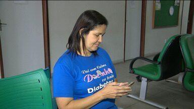 Pacientes usam aplicativo para conviver com diabetes - Veja na reportagem