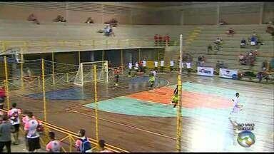 Veja como foram os jogos da Copa TV Asa Branca de Futsal deste sábado (18) - Partidas ocorreram no Sesc Caruaru.