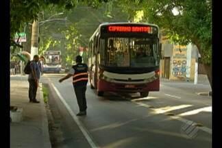Faixas exclusivas de ônibus começam a funcionar nesta segunda em Belém - Sistema foi implantado em três dos principais corredores de acesso ao centro de Belém. Regulamentação vale de segunda a sábado, de 06h às 22h.