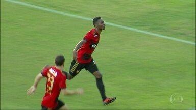 Com gol de Marquinhos, Sport vence e reacende esperança de permanência na Série A - Com gol de Marquinhos, Sport vence e reacende esperança de permanência na Série A