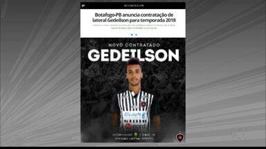 Gedeílson é o novo reforço do Botafogo-PB para a temporada 2018 - Lateral-direito estava no Cuiabá e reforça o Belo no próximo ano