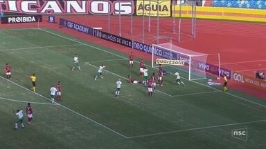 Chapecoense empata com o Atlético-GO; Avaí recebe o Palmeiras nesta segunda (20) - Chapecoense empata com o Atlético-GO; Avaí recebe o Palmeiras nesta segunda (20)