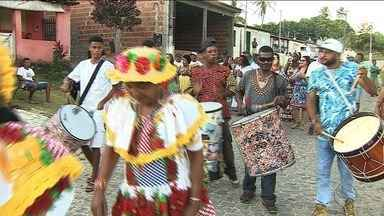 Cortejo é realizado na Comunidade Quilombola Mussuca - Cortejo é realizado na Comunidade Quilombola Mussuca.