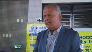 Procon-PE e prefeitura promovem mutirão de endividados no Recife - É possível renegociar dívidas como IPTU e contas de operadoras de telefonia