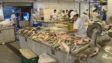 Preço do pescado sofre influência do defeso no AM - Começou o período do defeso de várias espécies.