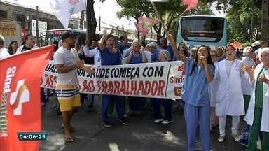 Pacientes e funcionários denunciam descaso nos hospitais de Messejana e Cesar Calls - Saiba mais em g1.com.br/ce