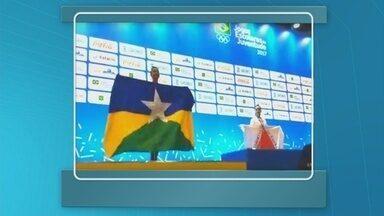 Ginasta Maria Eduarda conquista medalha de prata nos Jogos Escolares da Juventude - Ela é a primeira ginasta de Rondônia a conquistar uma medalha nos Jogos.