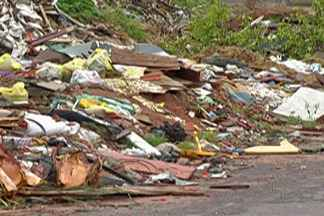 Moradores de Ferraz reclamam de descarte irregular de lixo em terreno - Segundo moradores da Vila Margarida, em Ferraz de Vasconcelos, terreno é utilizado para descarte de lixo e animais mortos.
