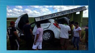 Acidente deixa uma pessoa morta e duas feridas na AL-220, em Limoeiro de Anadia - Grave acidente ocorreu na manhã desta quarta-feira (21).