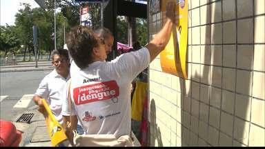 Campanha alerta para a prevenção contra o mosquito da dengue em João Pessoa - A Prefeitura de João Pessoa reforça a necessidade de evitar o acúmulo de água.