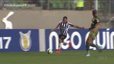 Coritiba perde para o Galo em noite inspirada de Otero - Venezuelano marcou até gol do meio-campo na vitória do Atlético-MG sobre o Coxa