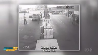 Polícia procura por um homem suspeito de matar um frentista - Ele ficou irritado com a demora no atendimento.