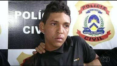 Suspeito de tentar matar ex-namorado com facão é preso em Araguaína - Suspeito de tentar matar ex-namorado com facão é preso em Araguaína