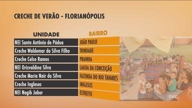 Florianópolis abre inscrições para Creche de Verão na sexta-feira (24) - Florianópolis abre inscrições para Creche de Verão na sexta-feira (24)