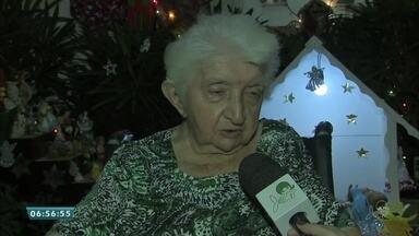 Conheça a história de uma senhora que dedica seu tempo na montagem de presépios - Saiba mais em g1.com.br/ce