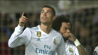 Na Liga dos Campeões, Real Madrid goleia e Monaco se despede - Na Liga dos Campeões, Real Madrid goleia e Monaco se despede