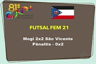 Mogi das Cruzes avança na classificação geral dos Jogos Abertos do Interior - Após mais um dia de competição, cidade passou da 13ª colocação para a 4º, com 65 pontos.