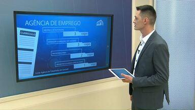 Agência de empregos de Cascavel oferece quase 180 vagas - Paraná TV apresenta algumas.