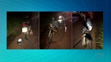 Acidente entre motocicletas e caminhão deixa uma pessoa morta em Paraíso - Acidente entre motocicletas e caminhão deixa uma pessoa morta em Paraíso