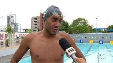Nadador conquista título para o Tocantins e volta a treinar no estado - Nadador conquista título para o Tocantins e volta a treinar no estado