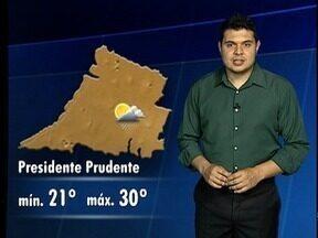Confira a previsão do tempo para o Oeste Paulista - Veja com ficam as temperaturas em algumas cidades.