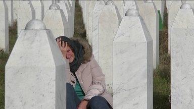 Mladic é condenado à prisão perpétua por genocídio na Bósnia - Ratko Mladic foi responsável pela maior atrocidade cometida na Europa desde a Segunda Guerra Mundial: o massacre de Srebrenica.
