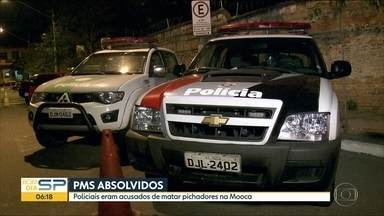 PMs são absolvidos da acusação de terem assassinado dois pichadores em SP - Juíza entendeu que os cinco policiais agiram em legítima defesa contra invasores de prédio na Mooca.