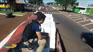 Polícia apreende carregamento de anabolizantes e medicamentos contrabandeados - Desde o começo do mês, várias forças policiais trabalham juntas na Operação Muralha.