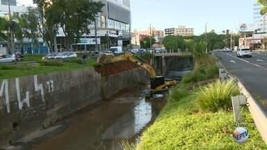 Trecho da Avenida Norte Sul é interditado em Campinas para obras - Prefeitura fará reparos após temporal de sábado.