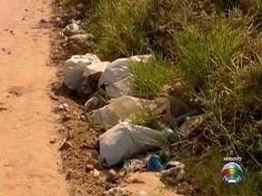 Em Dracena, moradores do Bairro Palmeiras já têm onde descartar corretamente o lixo - Reclamação foi acompanhada pelo 'Bom Dia Fronteira'.
