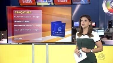 Rio Preto, Araçatuba e Birigui oferecem oportunidades de emprego - Confira as vagas de emprego disponíveis nas cidades de São José do Rio Preto, Araçatuba e Birigui.