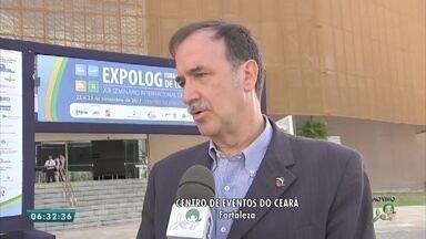 Confira a programação para a feira de logística em Fortaleza - Saiba mais em g1.com.br/ce