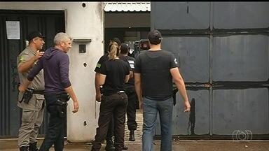 Operação combate organizações criminosas que agem dentro de presídios em Goiás - São cumpridos 87 mandados de prisão, alguns deles contra pessoas que já estão no sistema penitenciário.