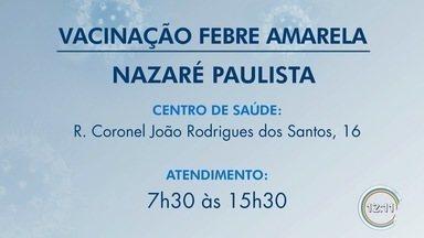 Nazaré Paulista confirmou primeira morte por febre amarela - Animal foi encontrado morto no dia 25 de outubro.