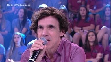 Júri elogia apresentação de Lucas Veloso - Ele se destaca no paso doble